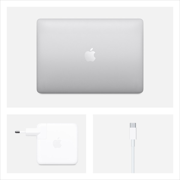 Apple MacBook Pro 13 2020 i5 2.0/16GB/512GB Silver MWP72LL/A