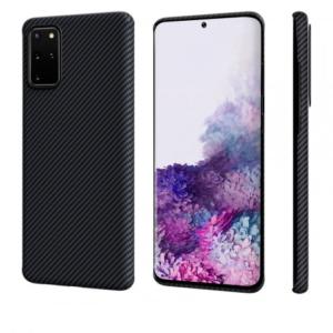 Чехол Pitaka MagEZ Case Для Galaxy S20+ Черный Кевлар (Арамид)