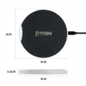 pitaka magez pad c 2 300x300 - Беспроводное зарядное устройство Pitaka MagEZ Pad c кевларовым покрытием