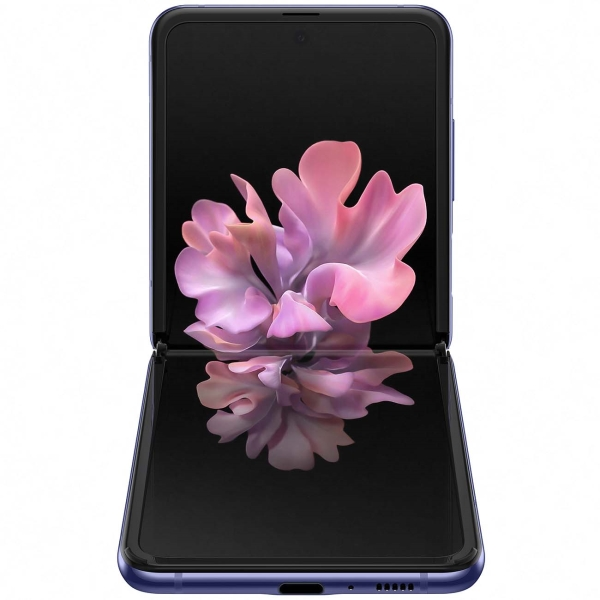 samsung galaxy z flip purple 2 - Смартфон Samsung Galaxy Z Flip Purple SM-F700F/DS РСТ