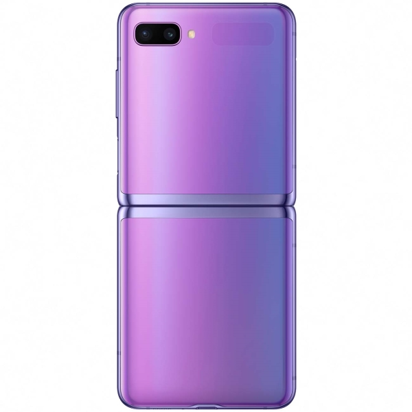 samsung galaxy z flip purple 4 - Смартфон Samsung Galaxy Z Flip Purple SM-F700F/DS РСТ