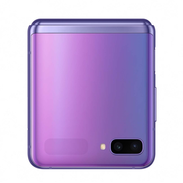 samsung galaxy z flip purple 5 - Смартфон Samsung Galaxy Z Flip Purple SM-F700F/DS РСТ