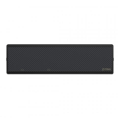 magez bar 1 - Домашний магнитный держатель/зарядка на стену MagEZ BAR из карбона для чехлов Pitaka