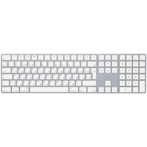 Клавиатура беспроводная Apple Magic Keyboard with Numeric Keypad MQ052RS/A