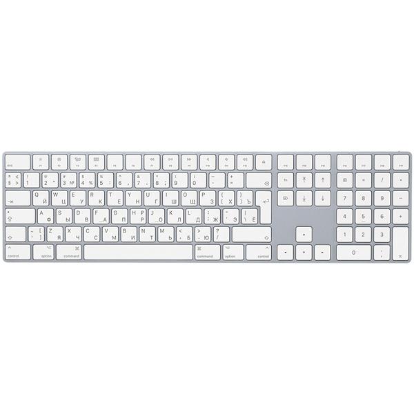 Клавиатура беспроводная Apple Magic Keyboard with Numeric Keypad MQ052RS/A