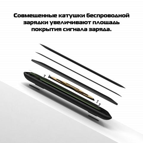pitaka air essential black 3 - Беспроводное настольное зарядное устройство Pitaka Air Essential Black