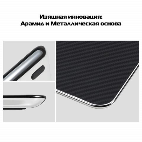 Беспроводное настольное зарядное устройство Pitaka Air Essential Сhrome