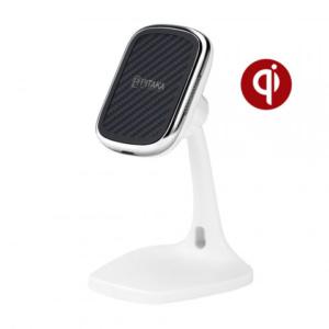 Настольная беспроводное зарядное устройство Pitaka MagEZ Mount Qi Desktop белый
