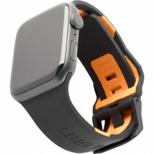 uag civilian strap www1 300x300 - Ремень силиконовый UAG Civilian Strap для Apple Watch 44/42 черно/оранжевый (Black/Orange)