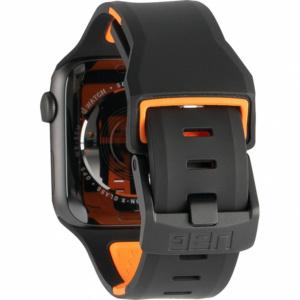 uag civilian strap www2 300x300 - Ремень силиконовый UAG Civilian Strap для Apple Watch 44/42 черно/оранжевый (Black/Orange)