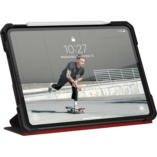 Чехол UAG Metropolis для iPad Pro 12.9 2020 красный (Magma)