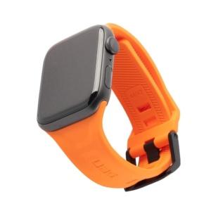 uag scout silicone apple watch orange 1 300x300 - Ремень силиконовый UAG Scout Silicone для Apple Watch 44/42 оранжевый (Orange)