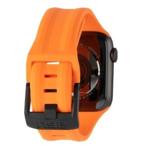 uag scout silicone apple watch orange 2 300x300 - Ремень силиконовый UAG Scout Silicone для Apple Watch 44/42 оранжевый (Orange)