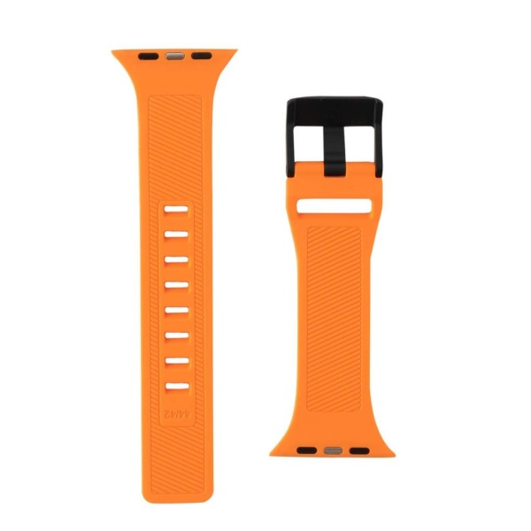 Ремень силиконовый UAG Scout Silicone для Apple Watch 44/42 оранжевый (Orange)