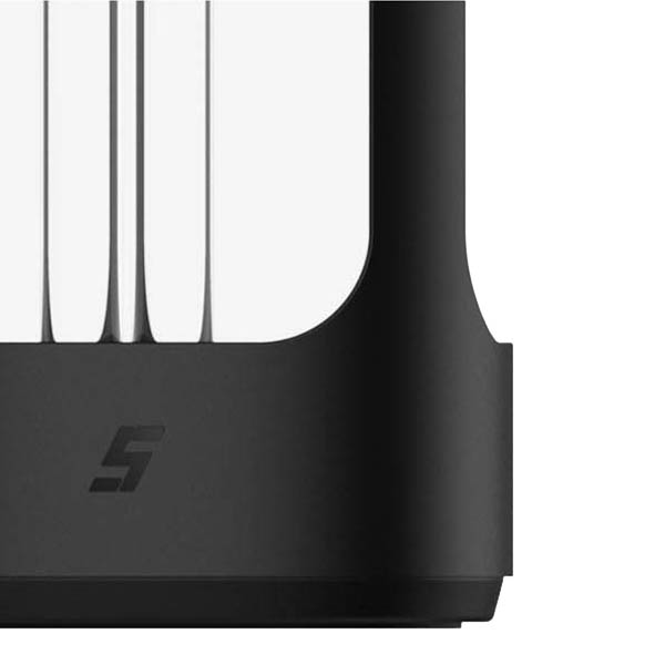 Настольная ультрафиолетовая лампа Five Smart Sterilization Lamp Black