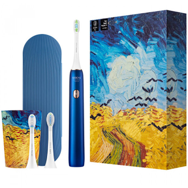Зубная щетка электрическая Soocas X3U Soocas & Van Gogh Museum Design Blue