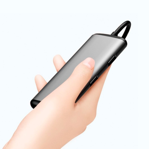 Многофункциональная док-станция картридер Xiaomi HAGiBiS USB Type-C UC39-PDMI