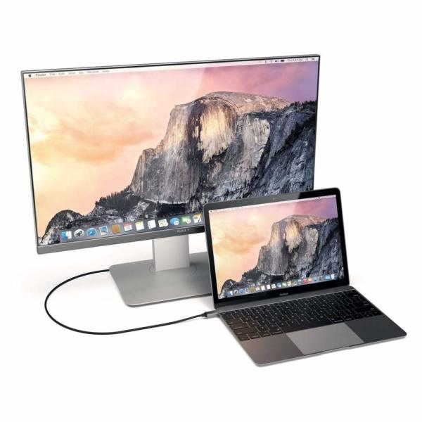 Кабель Satechi Aluminum Type-C TO HDMI Cable 4K 60HZ ST-CHDMIM (Серый космос)