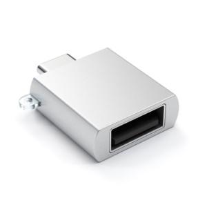 Алюминиевый переходник Satechi Type-C - USB 3.0 Серебристый (B015YRRYDY) (ST-TCUAS)