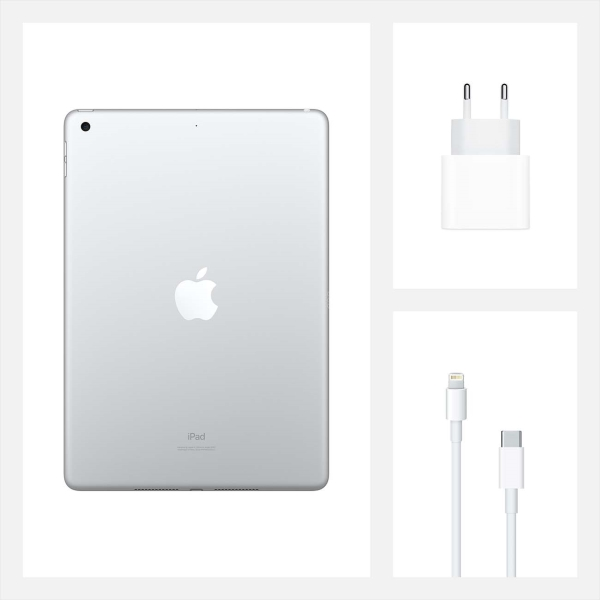 Планшет Apple iPad 10.2 128GB Wi-Fi Silver