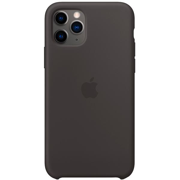 Чехол Apple Silicone Case для iPhone 11 Pro Black