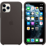 Apple iPhone 11 Pro Silicone Case Black 2