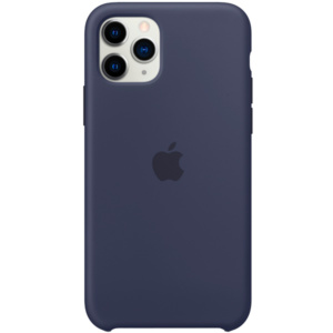 Чехол Apple Silicone Case для iPhone 11 Pro Midnight Blue