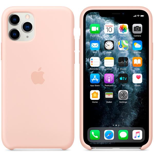 Чехол Apple Silicone Case для iPhone 11 Pro Pink Sand