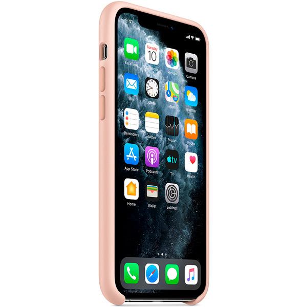 Чехол Apple Silicone Case для iPhone 11 Pro Max Pink Sand