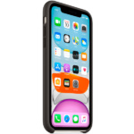 Apple iPhone 11 Silicone Case Black 3