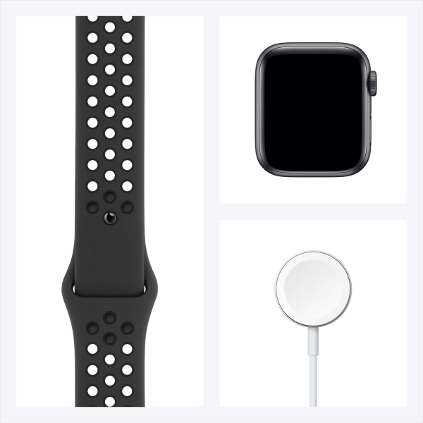 Смарт-часы Apple Watch Nike S6 44mm Space Gray Aluminum Case with Anthracite/Black Nike Sport Band MG173