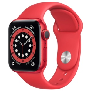 Смарт-часы Apple Watch S6 44mm PRODUCT(RED) Aluminum Case with PRODUCT(RED) Sport Band M00M3