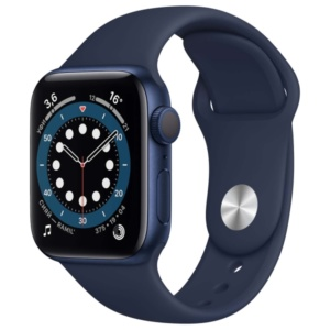 Смарт-часы Apple Watch S6 40mm Blue Aluminum Case with Deep Navy Sport Band MG143