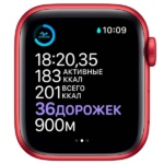 Apple Watch S6 PRODUCT(RED) Aluminum Case with PRODUCT(RED) Sport Band 4