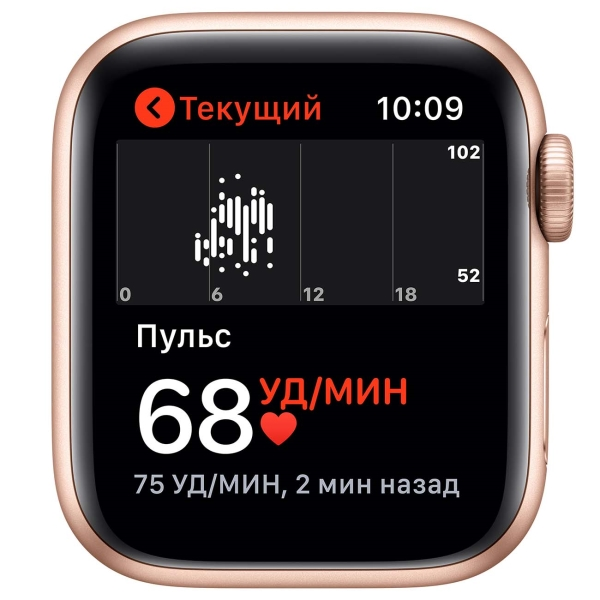 Смарт-часы Apple Watch SE 40mm Gold Aluminum Case with Pink Sand Sport Band MYDN2RU/A