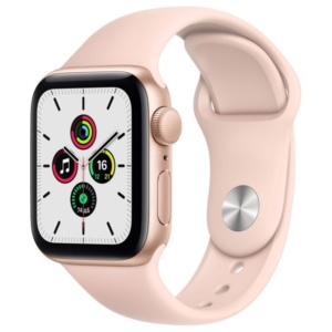 Смарт-часы Apple Watch SE 44mm Gold Aluminum Case with Pink Sand Sport Band