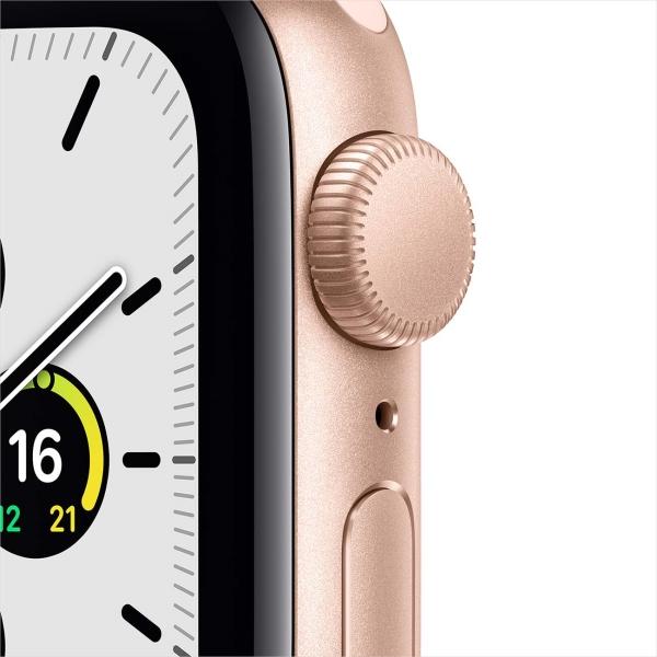 Смарт-часы Apple Watch SE 44mm Gold Aluminum Case with Pink Sand Sport Band MYDR2RU/A