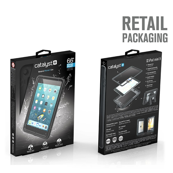 Водонепроницаемый чехол Catalyst Waterproof Case для iPad mini 5, черный