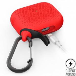 Водонепроницаемый чехол Catalyst Waterproof Premium Case для AirPods Pro, красный