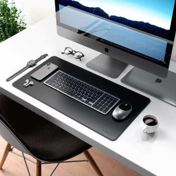 Коврик Satechi Eco Leather Deskmate для компьютерной мыши эко-кожа 58,5 x 31 см черный