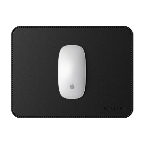 Коврик Satechi Eco Leather Mouse Pad для компьютерной мыши эко-кожа 25x19 Черный