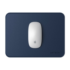 Коврик Satechi Eco Leather Mouse Pad для компьютерной мыши эко-кожа 25 x 19 см синий