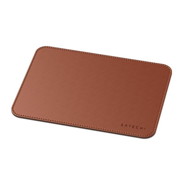 Коврик Satechi Eco Leather Mouse Pad для компьютерной мыши эко-кожа 25x19  Коричневый
