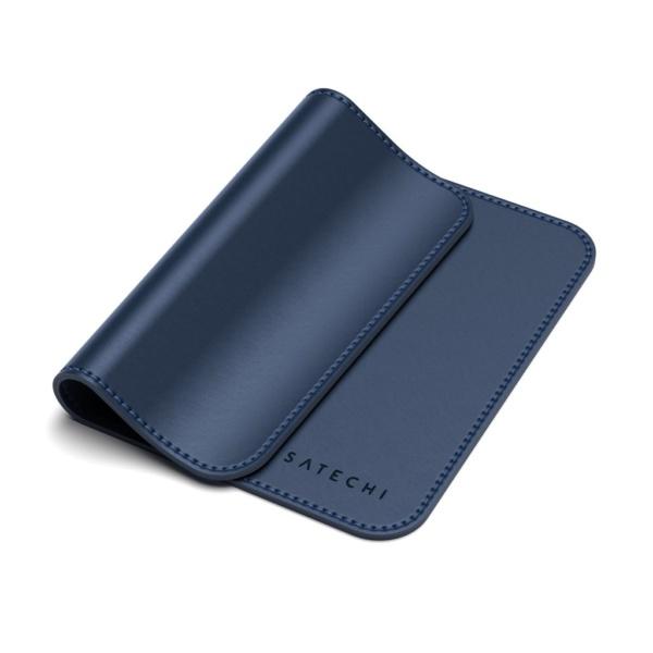 Коврик Satechi Eco Leather Mouse Pad для компьютерной мыши эко-кожа 25x19 Синий