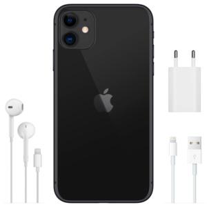iphone 11 black q5 300x300 - Apple iPhone 11 128GB Black Dual Sim A2223
