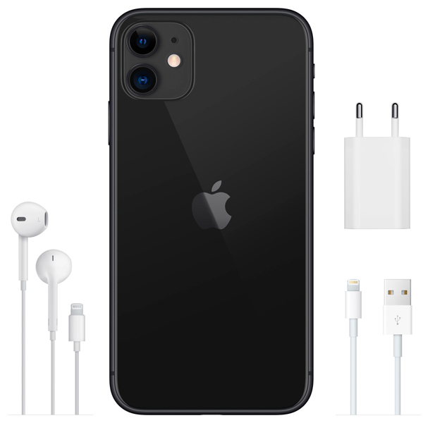 Apple iPhone 11 64GB Черный A2221 RU/A