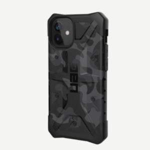"""Противоударный чехол Uag Pathfinder SE Camo для iPhone 12 mini 5.4"""" черный камуфляж (Midnight Camo)"""