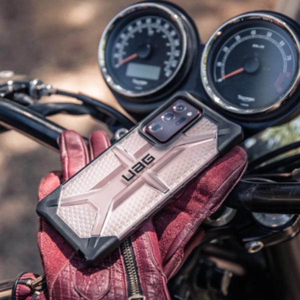 Противоударный чехол Uag Plasma для Samsung Note 20 тонированный
