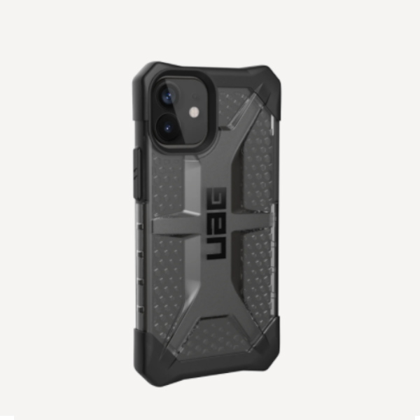 """Противоударный чехол Uag Plasma для iPhone 12 mini 5.4"""" тонированный (Ice)"""