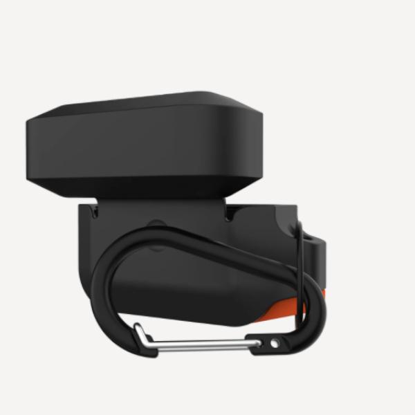 Силиконовый чехол для Apple Airpods Pro UAG, оранжево/черный